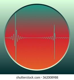 Sound Modulation  - vector illustration