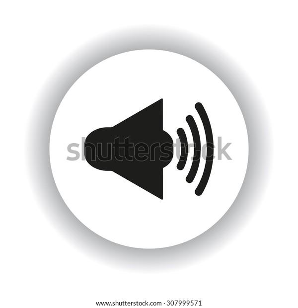 Sound on. icon. vector design