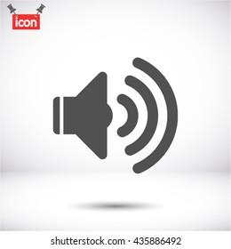 SOUND VECTOR ICON