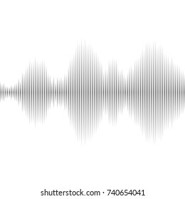 sound wave from equalizer.