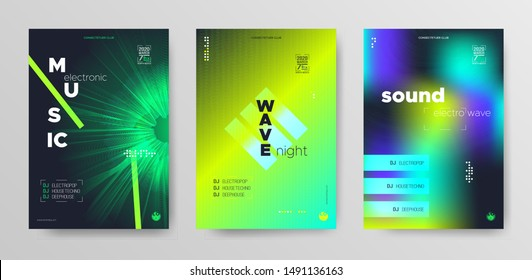 Sound Wave Poster. Futuristic Electronic Round. Dance Music Cover. Light Dj Concept. Vibrant Fluid Abstract. Modern Electronic Round. Trance Wave Music Fest. Dj Banner. Fluid Abstract.