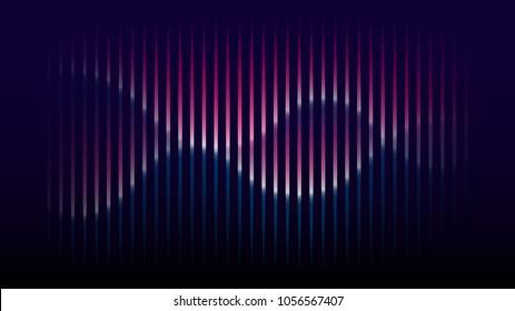 Sound wave rhythm