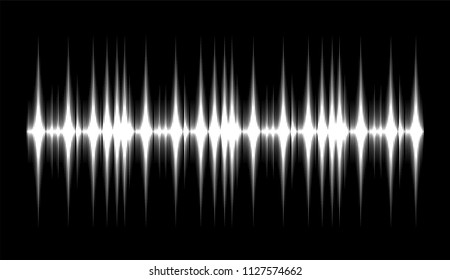 sound waves, Vector  design