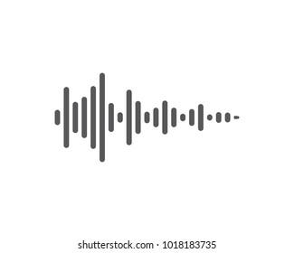 soundwave ilustration logo vector icon template