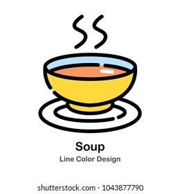 Soup Line color icon