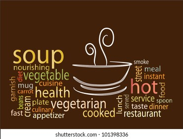 Soup tag clouds
