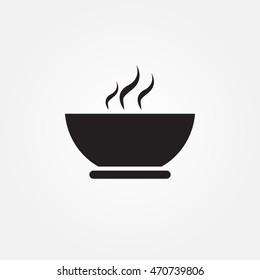 soup vector icon