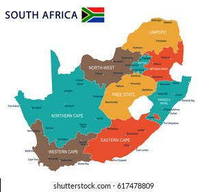 South Africa North West Map.Ilustraciones Imagenes Y Vectores De Stock Sobre North West