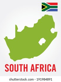 South African Map Set - Vector