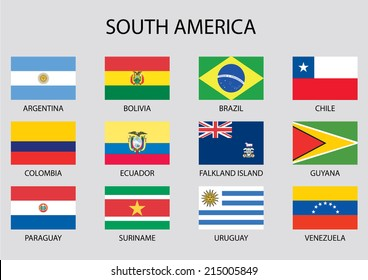 south america flags images stock photos vectors shutterstock