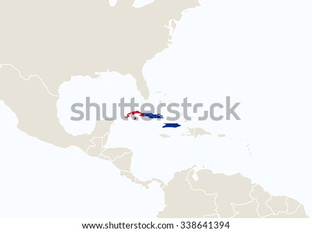 South america highlighted cuba map vector stock vector royalty free south america with highlighted cuba map vector illustration gumiabroncs Image collections