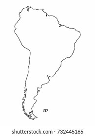 World Map Line Drawing Images, Stock Photos & Vectors | Shutterstock