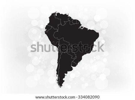 American Map Vector.South American Map Vector Illustration Stock Vector Royalty Free