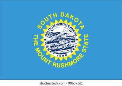 South Dakota State Flag