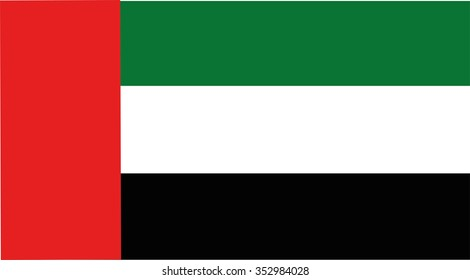 South EI Emirater flag vector