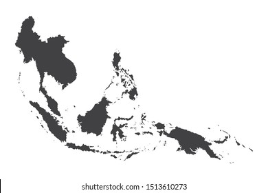 Southeast Asia Map.Southeast Asia plans
