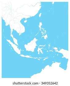 Southeast Asia Map Images Stock Photos Vectors Shutterstock