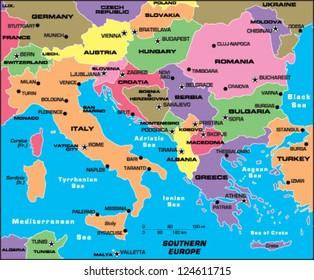 Imágenes, fotos de stock y vectores sobre Southern Europe ...