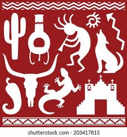 Southwestern Theme Icons / Graphics