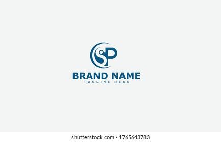 SP Logo Design Template Vector