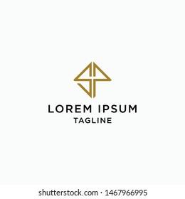 SP Logo Icon Design Template - Vector