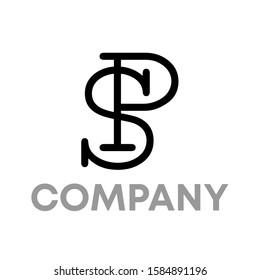 sp logo icon design template sign