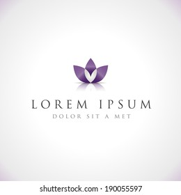 Spa Icon - Isolated On Gray Background - Vector illustration, Graphic Design Editable For Your Design