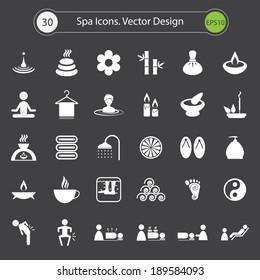 Spa Icons.Vector design