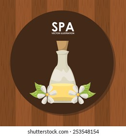 spa relax design, vector illustration eps10 graphic