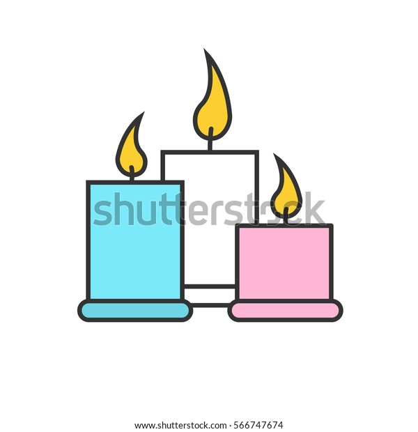 Birthday Cake Spa Candle Clip Art - Flower - Clipart Transparent PNG