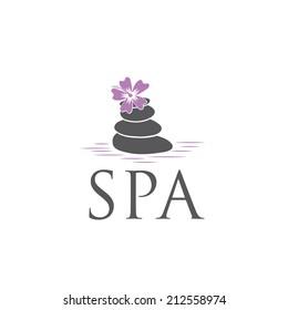 spa vector design template