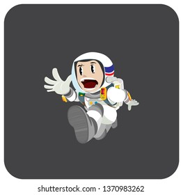 SPACE ASTRONOUT PANIC