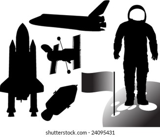 space collection - vector