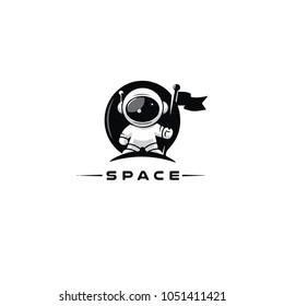 Space cosmos logo
