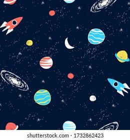 Galaxy Kids Pattern Images Stock Photos Vectors Shutterstock