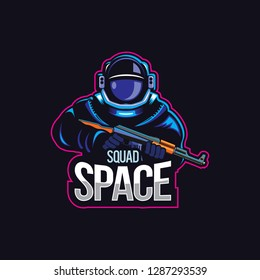 Space Squad E Sport Logo