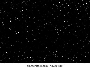 Space and star background vector illustration