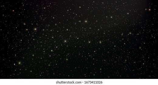 Space stars background, Abstract background, Stardust and bright shining stars in universal, Vector illustration.