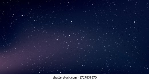 Space stars background, Abstract background, Starry space vector backdrop, Galaxies, Milky way galaxy, Vector illustration.