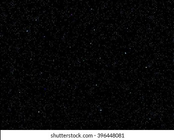 Space Stars Background. Vector Illustration of The Night Sky.