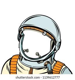 space suit. astronaut. Pop art retro vector illustration kitsch vintage drawing