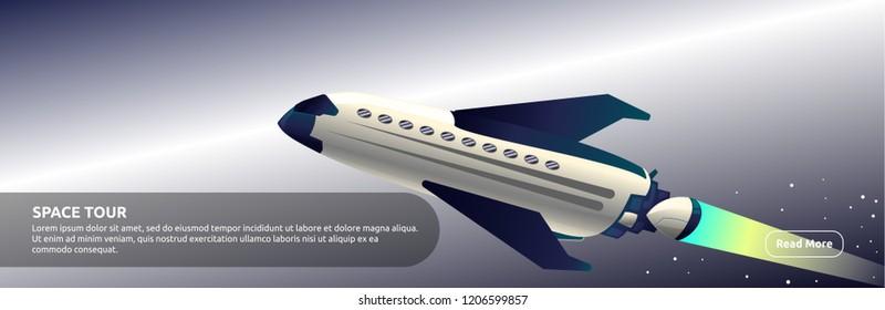 Space Tour - Banner Design