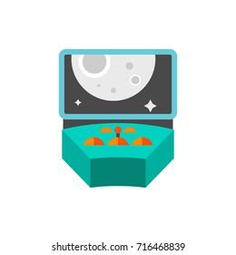 Spacecraft control icon
