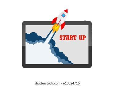 Spaceship Crash Stock Vectors, Images & Vector Art
