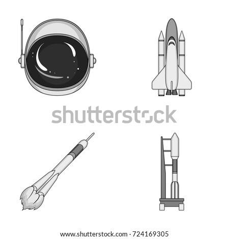 spaceship space cargo shuttle launch 450w 724169305 spaceship space cargo shuttle launch pad stock vector (royalty free