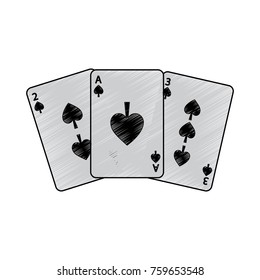 spades suit french playing cards related icon icon image