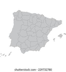 España Y Portugal Mapa.Mapa Espana Y Portugal Stock Vectors Images Vector Art