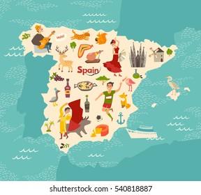 Kids Map Of Spain.Flamenco Kids Images Stock Photos Vectors Shutterstock