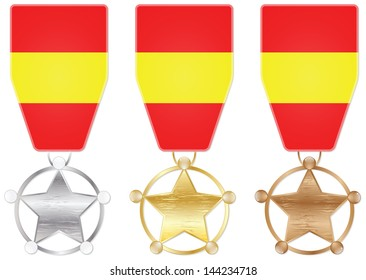 spain medals