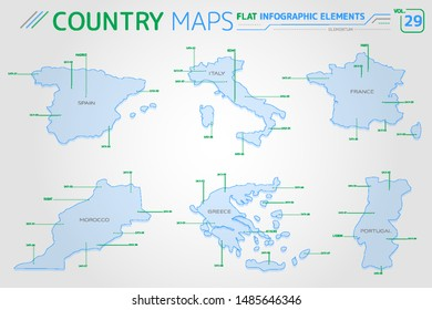 Map Of Spain Morocco And Portugal.Portugal Morocco Images Stock Photos Vectors Shutterstock